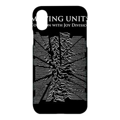 Moving Units Collision With Joy Division Apple Iphone X Hardshell Case