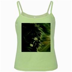 Angry Male Lion Digital Art Green Spaghetti Tank