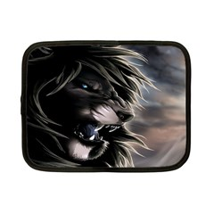 Angry Male Lion Digital Art Netbook Case (small)