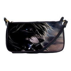 Angry Male Lion Digital Art Shoulder Clutch Bags