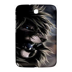 Angry Male Lion Digital Art Samsung Galaxy Note 8 0 N5100 Hardshell Case