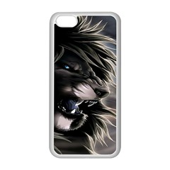 Angry Male Lion Digital Art Apple Iphone 5c Seamless Case (white)