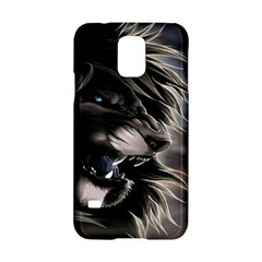 Angry Male Lion Digital Art Samsung Galaxy S5 Hardshell Case