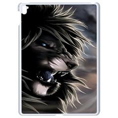 Angry Male Lion Digital Art Apple Ipad Pro 9 7   White Seamless Case