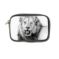 Lion Wildlife Art And Illustration Pencil Coin Purse