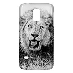 Lion Wildlife Art And Illustration Pencil Galaxy S5 Mini