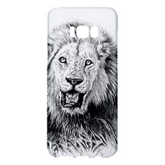 Lion Wildlife Art And Illustration Pencil Samsung Galaxy S8 Plus Hardshell Case