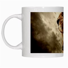 Roaring Lion White Mugs