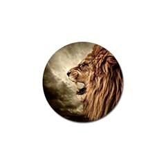 Roaring Lion Golf Ball Marker