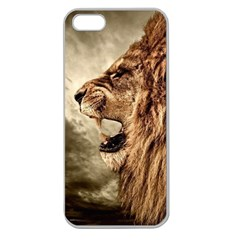 Roaring Lion Apple Seamless Iphone 5 Case (clear)