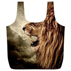 Roaring Lion Full Print Recycle Bags (l)