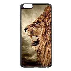 Roaring Lion Apple Iphone 6 Plus/6s Plus Black Enamel Case