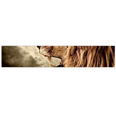 Roaring Lion Large Flano Scarf  by Samandel
