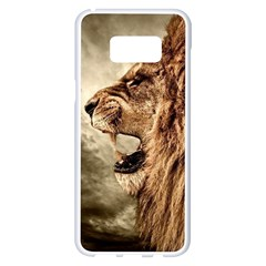 Roaring Lion Samsung Galaxy S8 Plus White Seamless Case