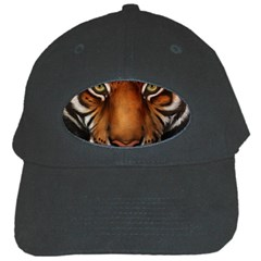 The Tiger Face Black Cap
