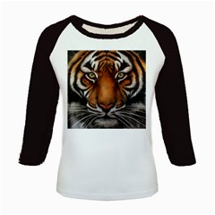 The Tiger Face Kids Baseball Jerseys
