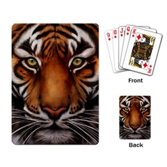 The Tiger Face Playing Card