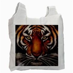 The Tiger Face Recycle Bag (two Side)
