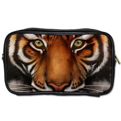 The Tiger Face Toiletries Bags 2 Side