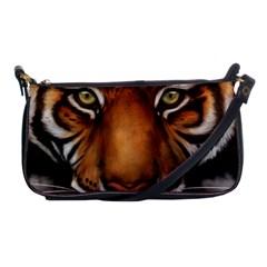 The Tiger Face Shoulder Clutch Bags by Samandel