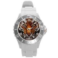 The Tiger Face Round Plastic Sport Watch (l)