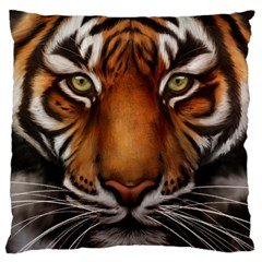The Tiger Face Large Cushion Case (two Sides)