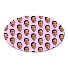 Drake Hotline Bling Oval Magnet by Samandel