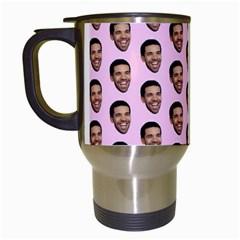 Drake Hotline Bling Travel Mugs (white) by Samandel