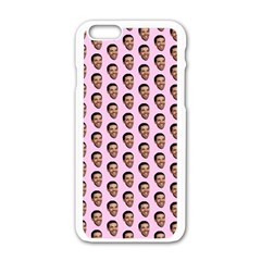 Drake Hotline Bling Apple Iphone 6/6s White Enamel Case by Samandel
