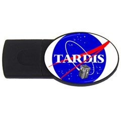 Tardis Nasa Parody Usb Flash Drive Oval (4 Gb)