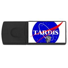 Tardis Nasa Parody Rectangular Usb Flash Drive