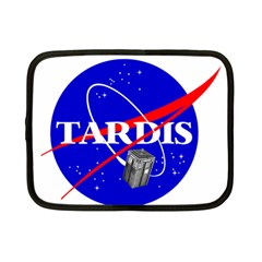 Tardis Nasa Parody Netbook Case (small)
