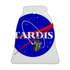 Tardis Nasa Parody Ornament (bell)