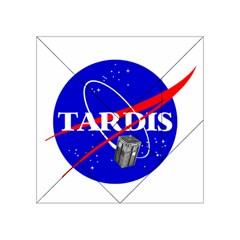 Tardis Nasa Parody Acrylic Tangram Puzzle (4  X 4 )
