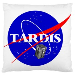Tardis Nasa Parody Large Cushion Case (one Side)