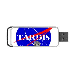 Tardis Nasa Parody Portable Usb Flash (two Sides) by Samandel