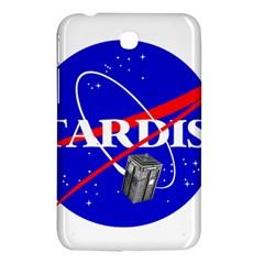 Tardis Nasa Parody Samsung Galaxy Tab 3 (7 ) P3200 Hardshell Case  by Samandel