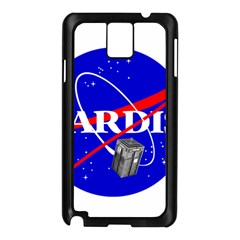 Tardis Nasa Parody Samsung Galaxy Note 3 N9005 Case (black)