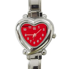 Pokedex Heart Italian Charm Watch