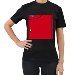 Pokedex Women s T Shirt (black)