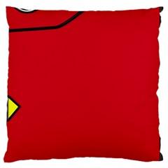 Pokedex Large Cushion Case (one Side)