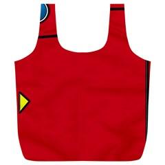 Pokedex Full Print Recycle Bags (l)