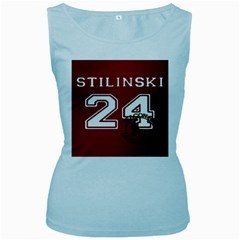 Stilinski Teen Wolf Beacon Hills Lacrosse Women s Baby Blue Tank Top