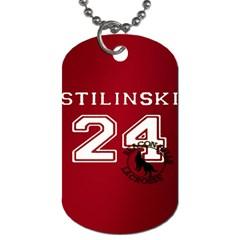 Stilinski Teen Wolf Beacon Hills Lacrosse Dog Tag (one Side)