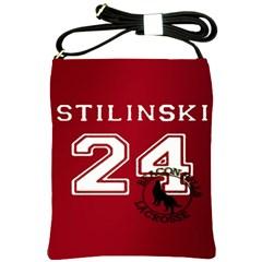 Stilinski Teen Wolf Beacon Hills Lacrosse Shoulder Sling Bags