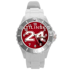 Stilinski Teen Wolf Beacon Hills Lacrosse Round Plastic Sport Watch (l)
