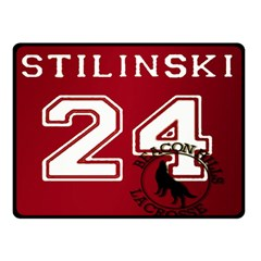 Stilinski Teen Wolf Beacon Hills Lacrosse Double Sided Fleece Blanket (small)
