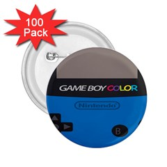 Game Boy Colour Blue 2 25  Buttons (100 Pack)