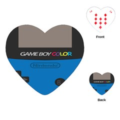 Game Boy Colour Blue Playing Cards (heart)