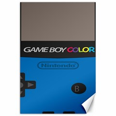 Game Boy Colour Blue Canvas 20  X 30